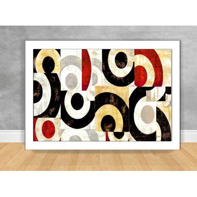 Quadro-Decorativo-Abstrato-Tons-de-Preto-e-Laranja