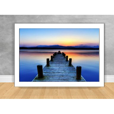 Quadro-Decorativo-Pier-Por-do-Sol