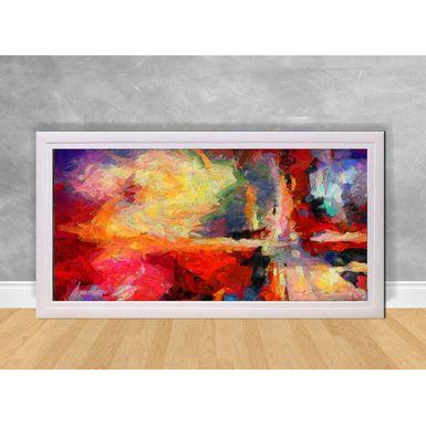 Quadro-Decorativo-Abstrato-Vermelho-e-Cores-Coloridas