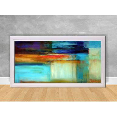Quadro-Decorativo-Abstrato-Tons-de-Azul