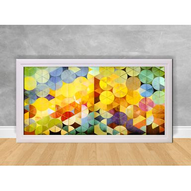 Quadro-Decorativo-Abstrato-Circulos-Coloridos