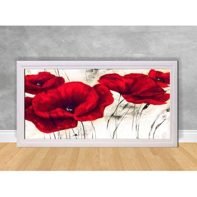 Quadro-Decorativo-Flores-Vermelhas-e-Branca