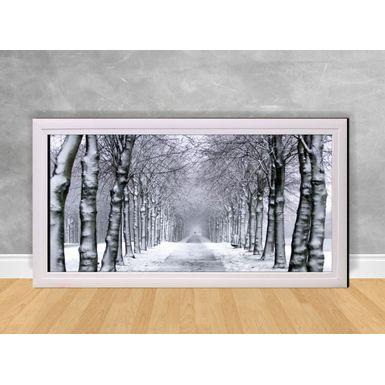 Quadro-Decorativo-Estrada-de-Neve