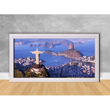 Quadro-Decorativo-Cristo-Redentor-e-Baia-de-Guanabara
