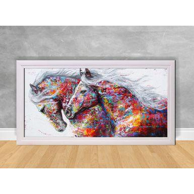 Quadro-Decorativo-Cavalos