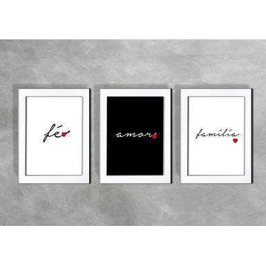 Kit-de-3-Quadros-Fe-Amor-Familia