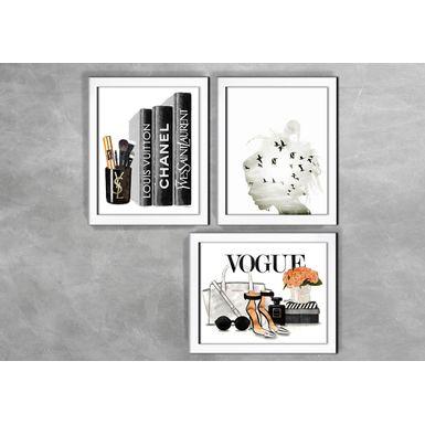 Kit-de-3-Quadros-Moda-Livros-Fashion-Branca