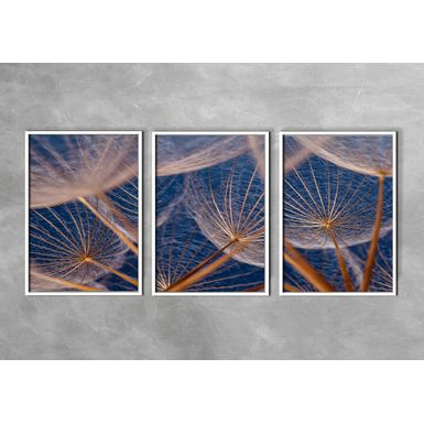 Kit-3-Quadros-Prime-Fine-Art-Blue-Sky-Branca