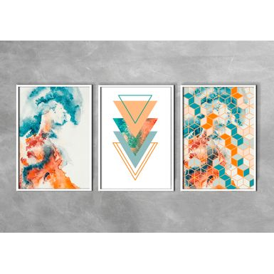 Kit-3-Quadros-Prime-Fine-Art-Orange-Branca