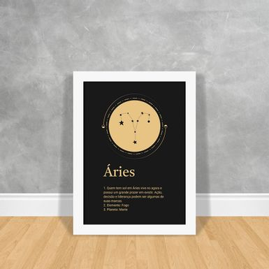 Signos-Gold-Aries-Branca-30x40