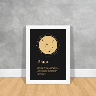 Signos-Gold-Touro-Branca-30x40