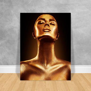 Black-Woman-Gold-40x50