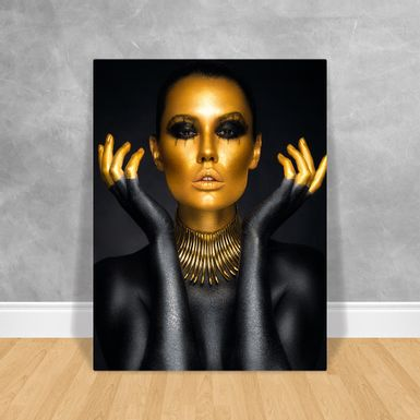 Black-Woman-Rosto-Gold-80x60