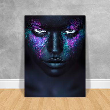 Black-Woman-Colorido-60x80
