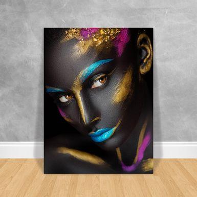 Black-Woman-Rosto-Colorido-60x80