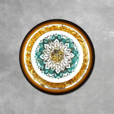 Quadro-Mandala-Decorativa-Flor-Abstrata-50-cm