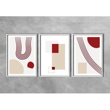 Kit-2-Quadros-Prime-Fine-Art-Red-Velvet-Branca