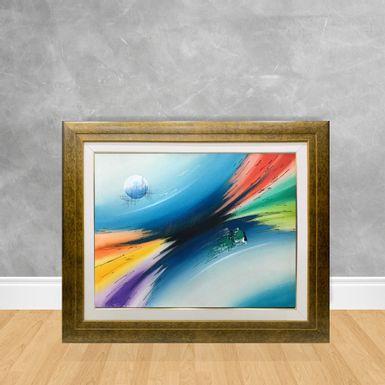 Tela-a-Oleo-Abstrato-Galaxia-90x70-Madeira-Tom-Escuro--D3-