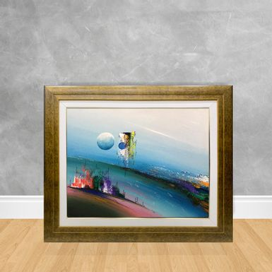 Tela-a-Oleo-Abstrato-Luar-Infinito-90x70-Madeira-Tom-Escuro--D3-