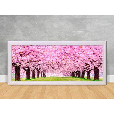Caminho-de-Arvores-com-Flores-Rosa-180x80-Branca