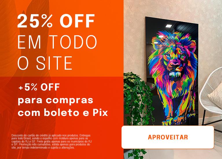 25% OFF Todo Site
